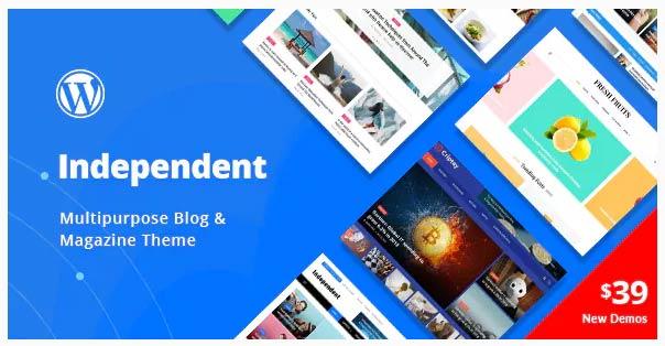 Los mejores temas de WordPress para Blogs – 2019