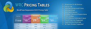 Los mejores plugins gratuitos de tabla de precios para WordPress 2020